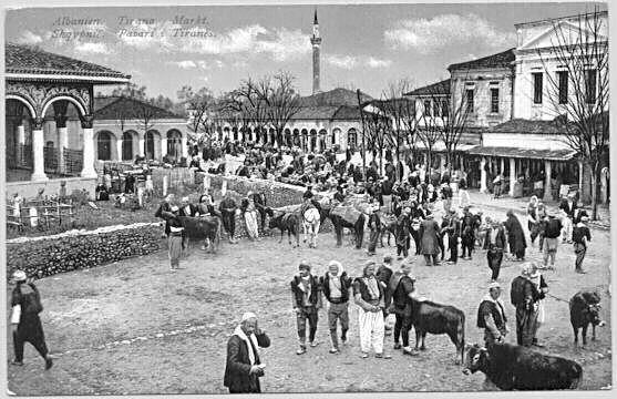 Albania's capital Tirana around 1900