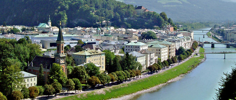 Salzburg's dramatic setting