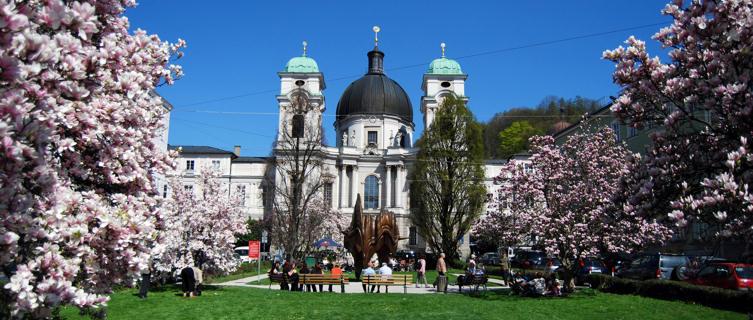 Salzburg's baroque architecture
