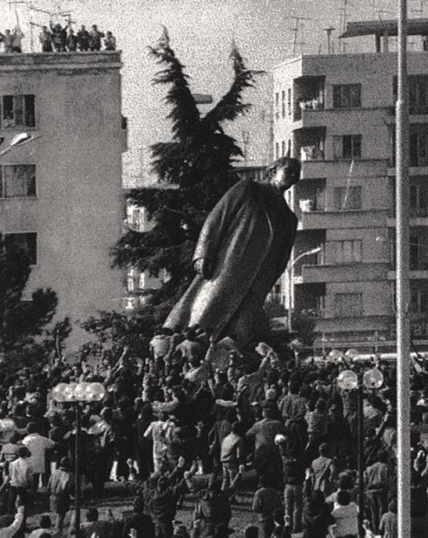 Enver Hoxha in Tirana