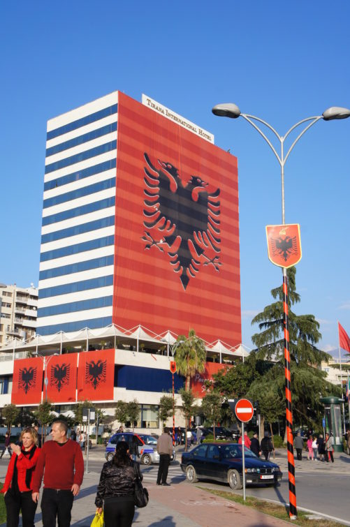 Capital Tirana