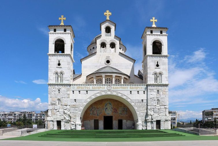 Cathedral of Christ's Resurrection in Podgorica