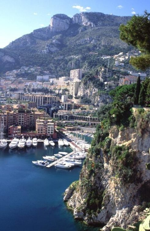 Monaco is located on the Mediterranean Sea