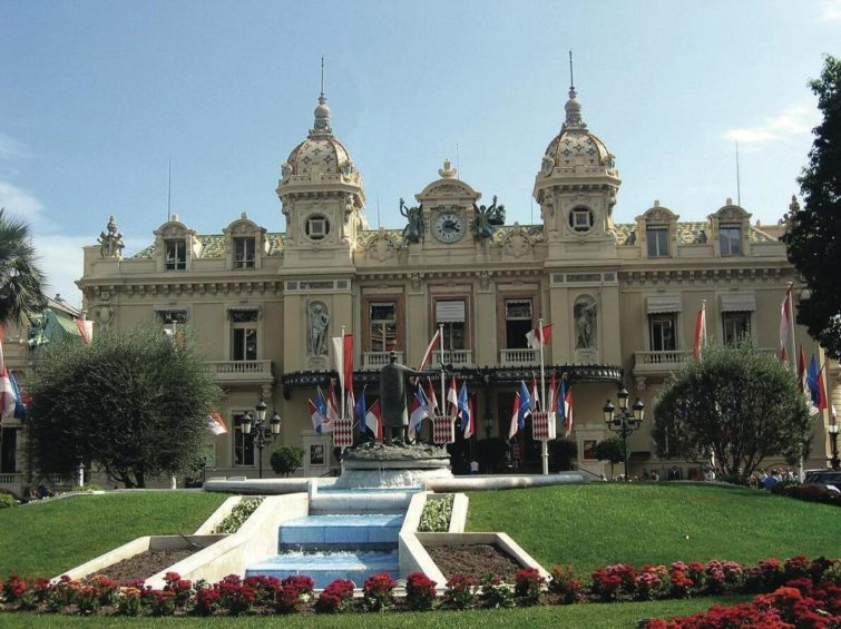 The famous Monte Carlo gaming casino
