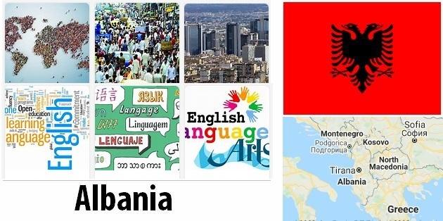 Albania Population and Language
