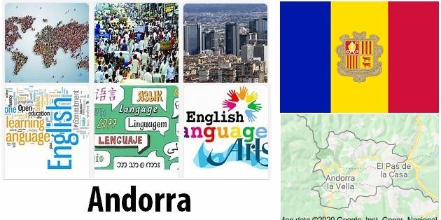 Andorra Population and Language