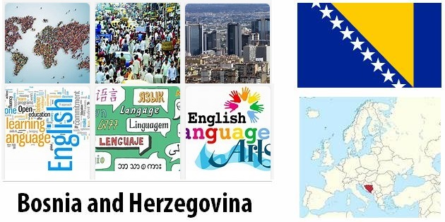 Bosnia and Herzegovina Population and Language