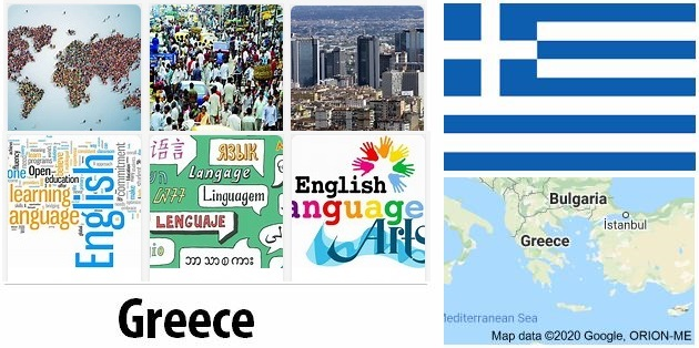 Greece Population and Language
