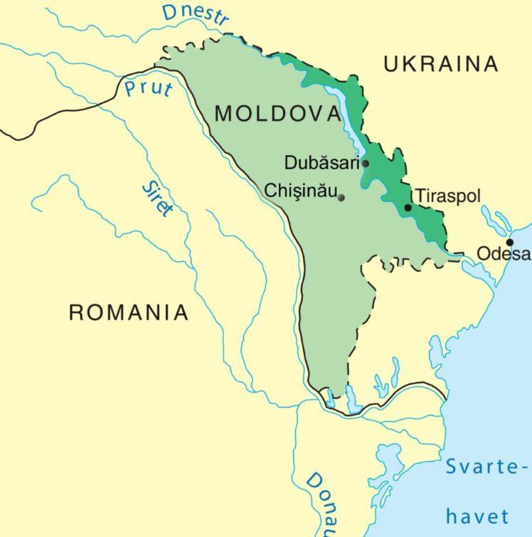 In the Transnistria region