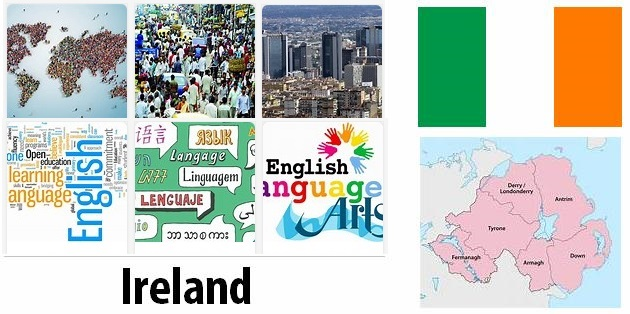 Ireland Population and Language