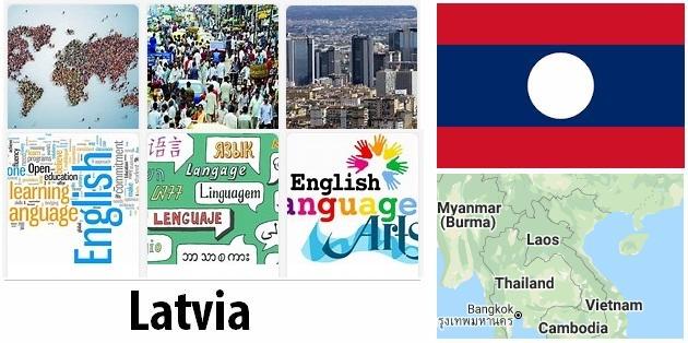 Latvia Population and Language