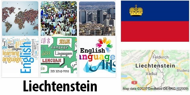 Liechtenstein Population and Language