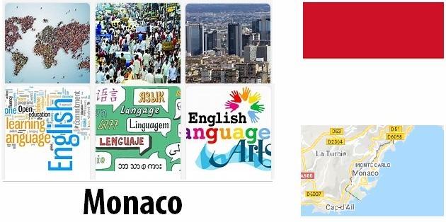 Monaco Population and Language