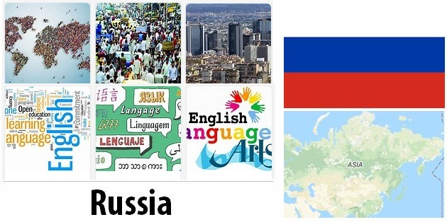 Russia Population and Language
