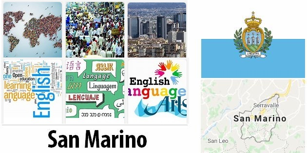 San Marino Population and Language