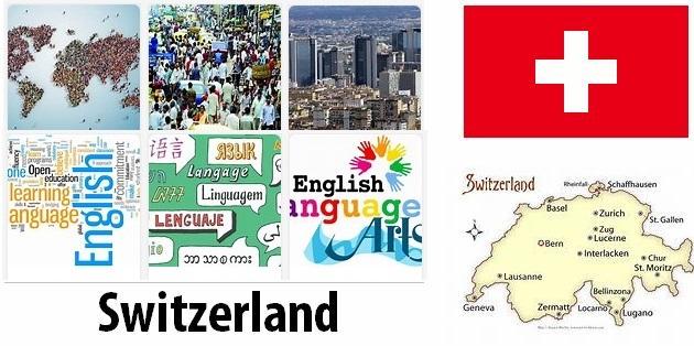 Switzerland Population and Language