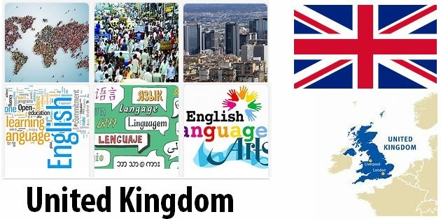 United Kingdom Population and Language