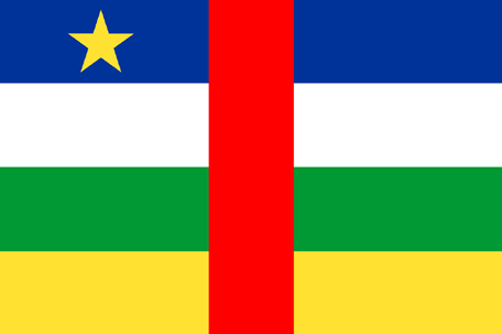 Central African Republic Emoji Flag