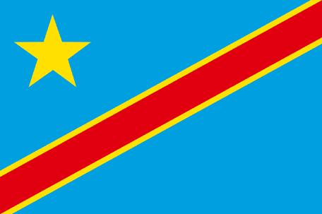 Congo Kinshasa Emoji Flag