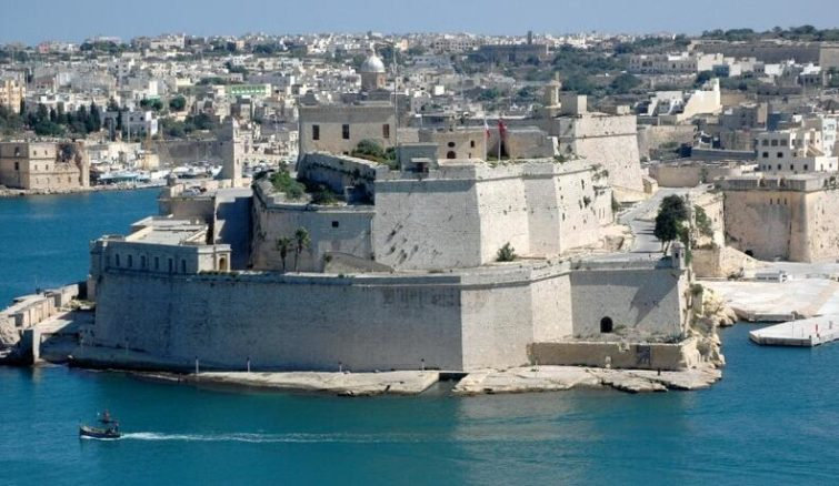 Fort Angelo in Vittoriosa