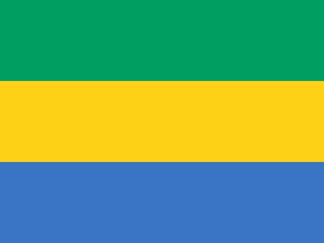 Gabon Emoji flag