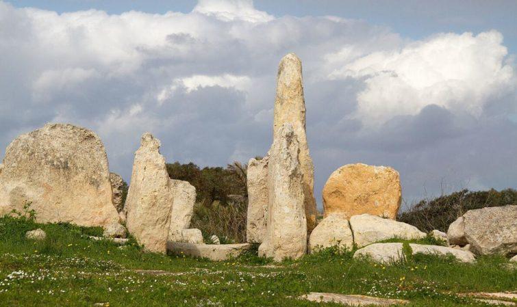Hagar Qim, megalithic monument in Malta