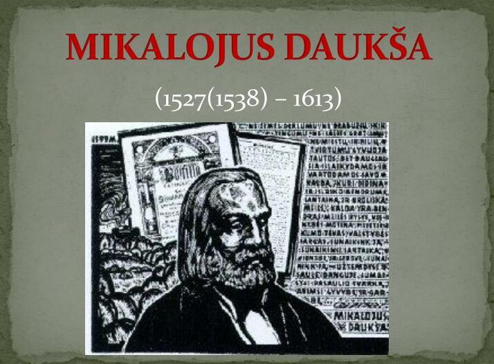 Mykalojus Daukša