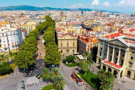 City break to Barcelona in the spring