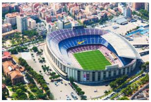 Football cities in Spain