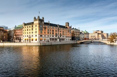 Stockholm's channels