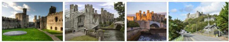 Edward I Castles in County Gwynedd